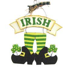 St. Patrick's Day Irish Legs Wall Decor