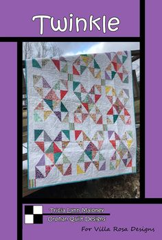 This pattern makes is X quilt. It's a fun, easy quilt to make. This is a beautiful Pattern from Villa Rosa Designs. Their patterns are easy to use & inexpensive to buy. Villa Rosa, Star Quilt Patterns, Card Patterns, Star Quilts, Scrappy Quilts, Cat Fabric, Quilt Sizes, Easy Quilts, Square Quilt
