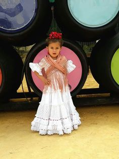 Flamenco Costume, Child Smile, Kool Kids, Dancer, Flower Girl Dresses, Costumes, My Style, Wedding Dresses, Children