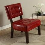 Eliza Accent Chair Red