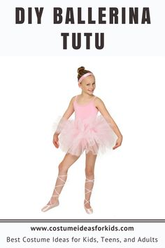 Express Your Creativity And Fashion Sense With This DIY Ballerina Tutu Tutorial Easy To