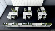 Superb Spaceist Kompany White Corner Office Desk Layout: