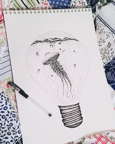 Jellyfish light bulb