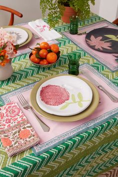 table setting from marigold living store