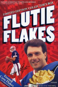 Flutie....I've got one of these original boxes of cereal.....!!!!