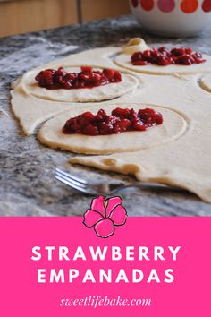 These strawberry empanadas are the best of my abuelita and me. A little of her, a little of me brimming with the flavor of summer. #empandas #strawberryempanadas #dessert #empanadasrecipe #sweetlifebake #sweetlife #sweetliferecipes | sweetlifebake.com @sweetlifebake Best Pasta Recipes, Soup Recipes, Empanadas Recipe, Good Food, Yummy Food, Sweet Life, Recipe Collection, Holiday Recipes, Strawberry