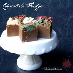 Chocolate Fudge - Thermomix Recipe - Cooking in the Chaos