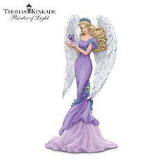 Thomas Kinkade Caring Figurine Alzheimer's charity angel figurine: caring