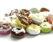 Busenichka Miniature Polymer Clay Foods Supplies for Beaded Jewelry and Dollhouse