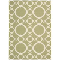 Sandrine Indoor/Outdoor Rug in Citrine at Joss & Main
