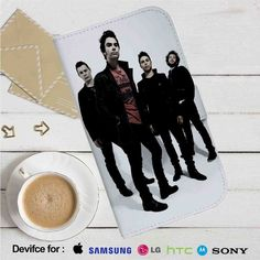 Stereophonics Band Leather Wallet iPhone 4/4S 5S/C 6/6S Plus 7  Samsung Galaxy S4 S5 S6 S7 NOTE 3 4 5  LG G2 G3 G4  MOTOROLA MOTO X X2 NEXUS 6  SONY Z3 Z4 MINI  HTC ONE X M7 M8 M9 CASE