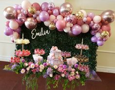 Quinceanera Party Planning – 5 Secrets For Having The Best Mexican Birthday Party Balloon Garland, Balloon Decorations, Birthday Decorations, Balloon Arrangements, Balloon Backdrop, Balloon Wall, Wedding Balloons, Birthday Balloons, 1st Birthday Parties