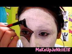 Halloween Tutorial: Paul Stanley Makeup(KISS) - YouTube