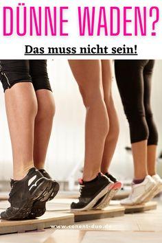 Deine Waden wollen nicht wachsen? In unserem Blogbeitrag verraten wir Dir die häufigsten drei Gründe. # Waden Training # Waden Workout # Waden Muskeln aufbauen # Wadenmuskulatur aufbauen # Waden Muskelaufbau # Waden Muskelkater Have Fun, Bodybuilding, Fitness Motivation, Health Fitness, Workout, Build Muscle, Strength Workout, Calf Training, Muscle Soreness