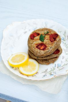 Try savoury pancakes for breakfast or as an interesting side dish - Thyme, Tomatoe, and Corn Pancakes, alive.com