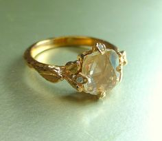jewelry and other things: More Etsy: Handmade Engagement Ring Highlights