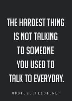 It really is the hardest thing.