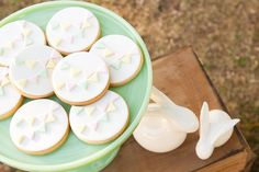 Bunting Sugar Cookies Hop To It Guest Dessert Feature