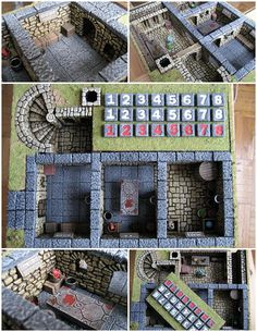 Blood Bowl Dugouts