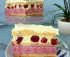 Przepis Na Masy Do Tortów - myTaste.pl Raspberry Torte, Chocolate Torte, Different Cakes, Polish Recipes, Something Sweet, Vegan Desserts, Vanilla Cake, Sweet Tooth, Cooking Recipes