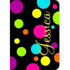 iPad 2, 3, 4 or Mini Smart Cover silicone rubber case Personalized Custom Polka Dots on Etsy, $39.99