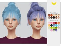 -Comes in 30 swatches Found in TSR Category 'Sims 4 Female Hairstyles'
