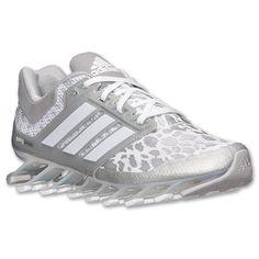 Women's adidas Springblade Drive Running Shoes  Finish Line   White/Silver Metallic