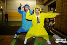 SHINee - Onew & f(x) - Amber They are so funny