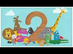 """""""The Number Two,"""" Number Songs by StoryBots - YouTube"""