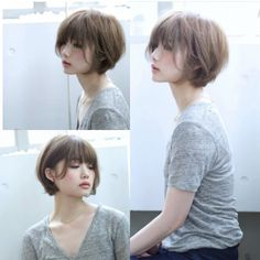 Today we have the most stylish 86 Cute Short Pixie Haircuts. Pixie haircut, of course, offers a lot of options for the hair of the ladies'… Continue Reading → Asian Short Hair, Girl Short Hair, Short Hair Cuts, Short Hair Styles, Pixie Cuts, Short Hair Korean Style, Japanese Short Hair, Japanese Haircut, Short Shag Haircuts