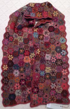 GORGEOUS NWT SOPHIE DIGARD CROCHETED WOOL SCARF #SophieDigard #Scarf