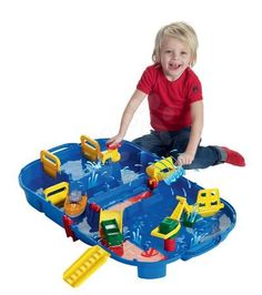 tragbare Wasserbahn Lock Box , 85 x 65 cm AquaplayAquaplay Circuit, Water Flow, Wedding Gift Registry, Montage, Bedding Shop, Fun Activities, Bath Towels, Baby Car Seats, Autos