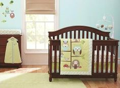 Just Born Babywise 6 Piece Baby Crib Bedding Set