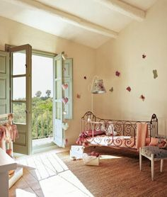 Whimsical nursery…