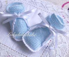 Baby Coat, Baby Knitting, Knit Crochet, Lana, Tarot, Knitted Baby Booties, Knitted Booties, Handmade Baby Clothes, Baby Knits