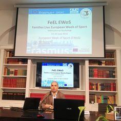 Filippo Macaluso, principal investigator, presenta il progetto europeo FEeL EWoS