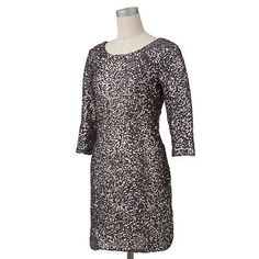 LC Lauren Conrad Sequin Sheath Dress, $60.00