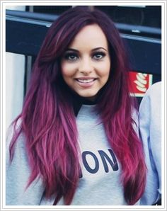 Jade....who loves her new hair the purple with a little dab of blue at the bottem?? ( i couldn't find a pic) <3