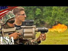 ショットガン&M32・M203グレネードランチャー射撃訓練(米海兵隊&マレーシア軍) - Shotgun & M32, M203 Grenade Launcher Live Fire - YouTube