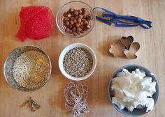 Vogelfutter selber machen: Material