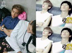 bts v girlfriend   Namjoon. The way V watch namjoon sleep ≧ ≦