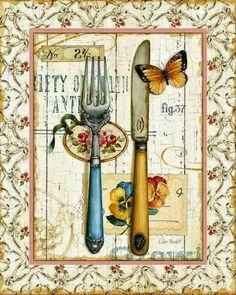 Lisa Audit Rose Garden Utensils I print for sale. Shop for Lisa Audit Rose Garden Utensils I painting and frame at discount price, ships in 24 hours. Cheap price prints end soon.