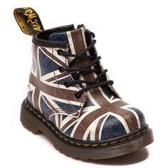 Dr.Martens Brooklee Union Jack Toddler Boots http://www.amazon.com/gp/product/B00IG4D61C/ref=as_li_tl?ie=UTF8&camp=1789&creative=9325&creativeASIN=B00IG4D61C&linkCode=as2&tag=coostu092-20