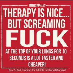 Therapy Is Nice