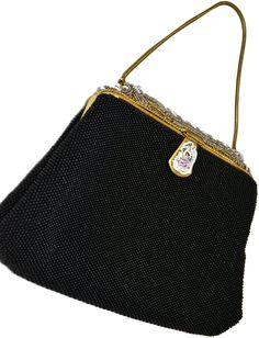 Vintage handbag a blatt