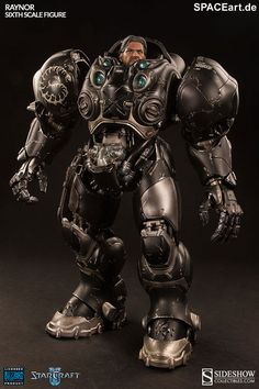 StarCraft: Raynor, Voll bewegliche Deluxe-Figur ... http://spaceart.de/produkte/stc003.php