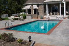 """So the question I keep hearing from customers is """"What materials can we use for our pool decking because we don't want concrete!"""" Finally people are looking for new, natural ways to surround their…"""