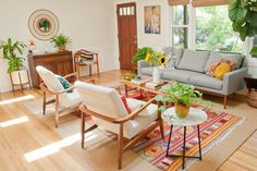 House Tour: A Cheery, Patterned Oasis in California | Apartment Therapy