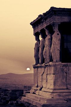 Pokemon Gifs Gotta Pin'em All! Top Pokemon, Classical Architecture, Athens, Daydream, Mount Rushmore, Past, Greece, Statue, Mountains