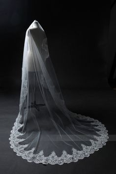 Custom Made Wedding Veil